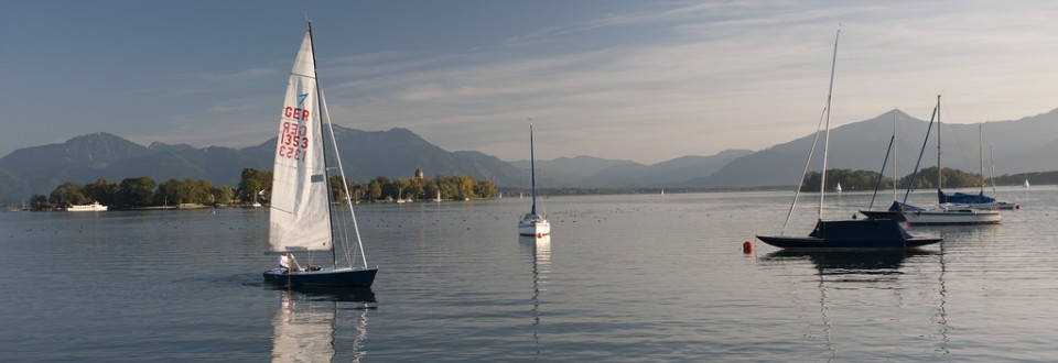 Segelparadies Chiemsee.
